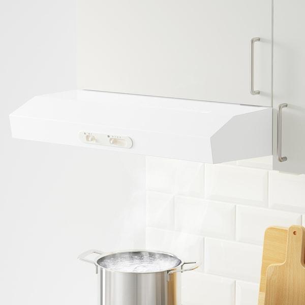 KNOXHULT Nástenná skrinka s dvierkami, biela, 60x60 cm