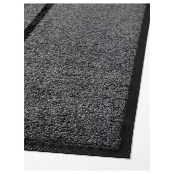 KÖGE rohožka sivá/čierna 200 cm 82 cm 6 mm 1.64 m² 2340 g/m² 500 g/m² 4 mm