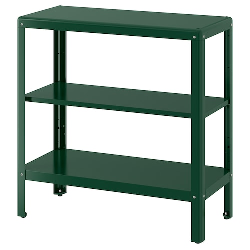 KOLBJÖRN policový diel ext/int zelená 80 cm 35 cm 81 cm 25 kg