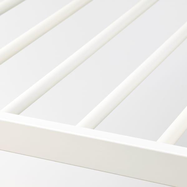 KOMPLEMENT Vyťahovací vešiak na nohavice, biela, 50x58 cm