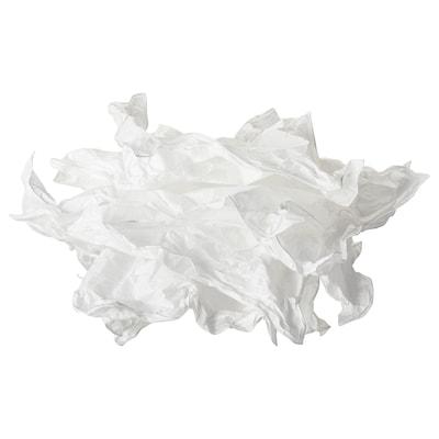 KRUSNING Tienidlo na závesnú lampu, biela, 43 cm