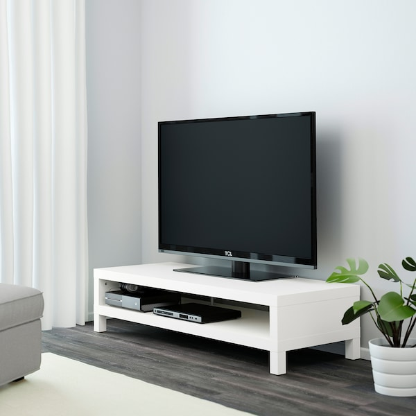 LACK skrinka na TV biela 149 cm 55 cm 35 cm 30 kg