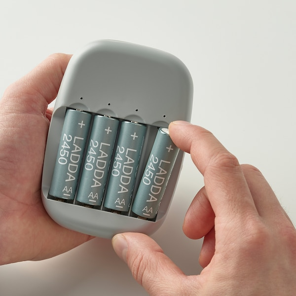 LADDA Nabíjateľná batéria, HR06 AA 1,2V, 2450 mAh