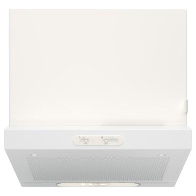 LAGAN Nástenný odsávač, biela, 60 cm