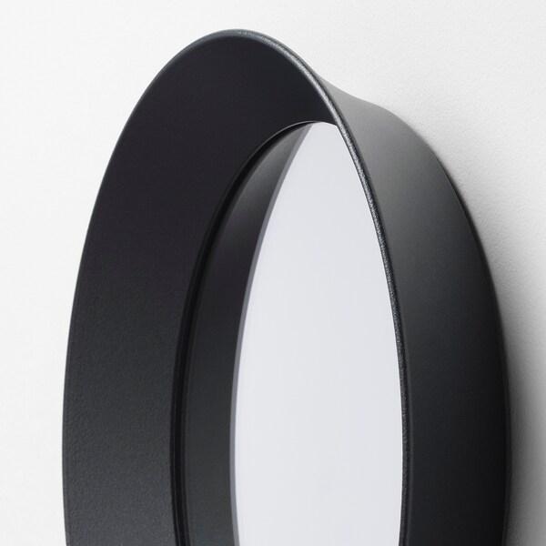 LANGESUND zrkadlo tmavosivá 25 cm