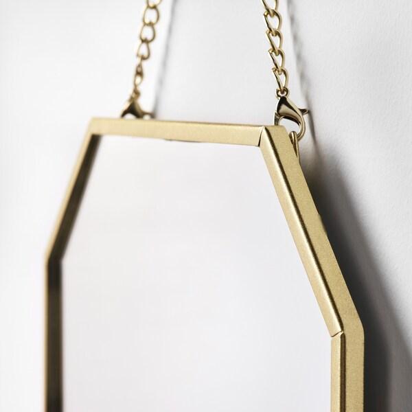 LASSBYN zrkadlo, 2 ks zlatá