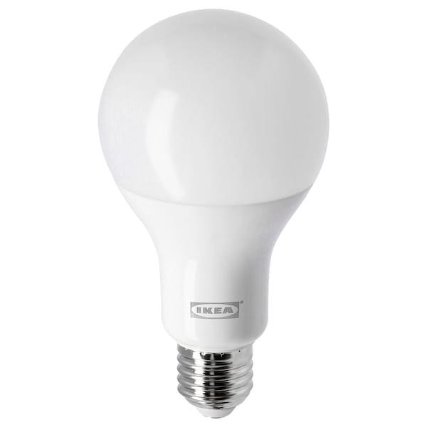 LEDARE Žiarovka LED E27 1055 lúmenov stmievanie v hrejivých farbách/Guľa osvetlenie opálová biela 2700 kelvin 1055 lm 77 mm 11.5 W 1 ks
