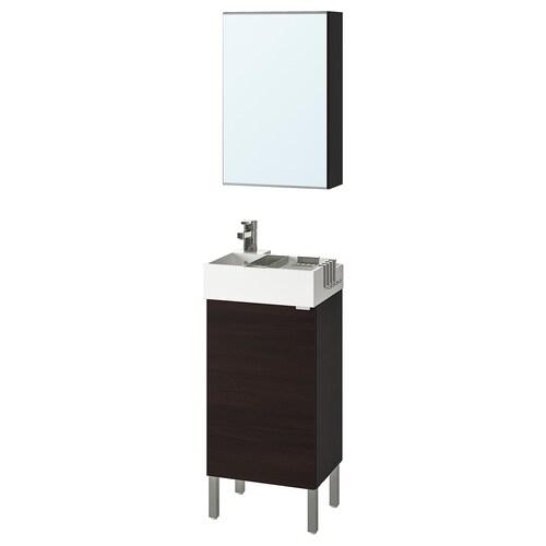 IKEA LILLÅNGEN / LILLÅNGEN Nábytok do kúpeľne, súprava 5ks