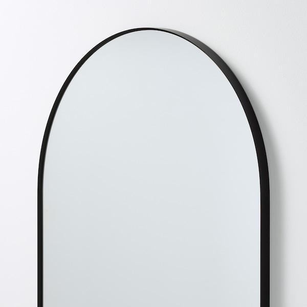 LINDBYN zrkadlo čierna 60 cm 120 cm