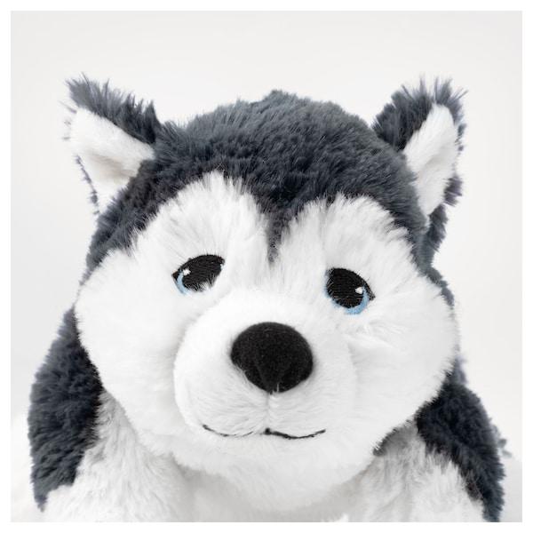 LIVLIG Plyšová hračka, pes/sibírsky husky, 26 cm