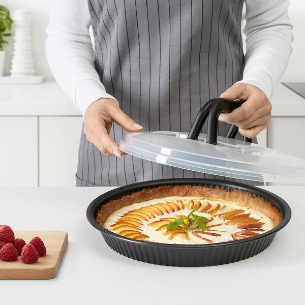 LOCKBETE forma na koláč s vrchnákom čierna 31 cm 7 cm