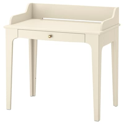 LOMMARP Stôl, svetlobéžová, 90x54 cm