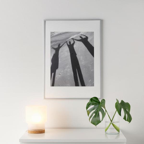 LOMVIKEN Rám, hliník, 50x70 cm