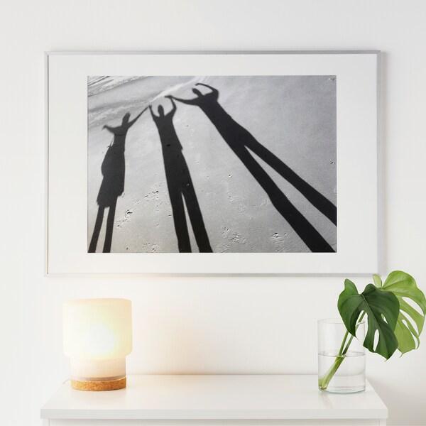 LOMVIKEN Rám, hliník, 61x91 cm