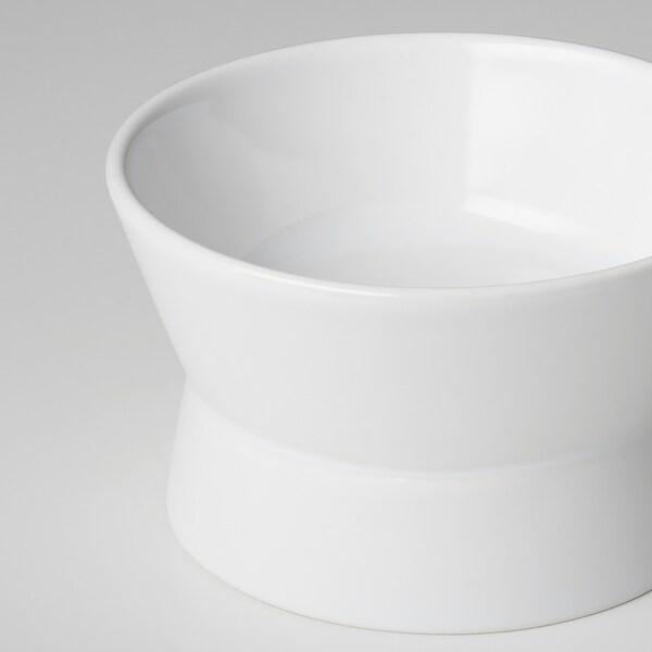 LURVIG obojstranná misa biela 6 cm 9.5 cm 11 cm