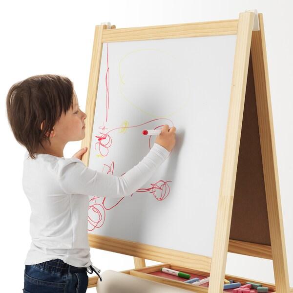 MÅLA pero na bielu tabuľu zmes farieb 4 ks