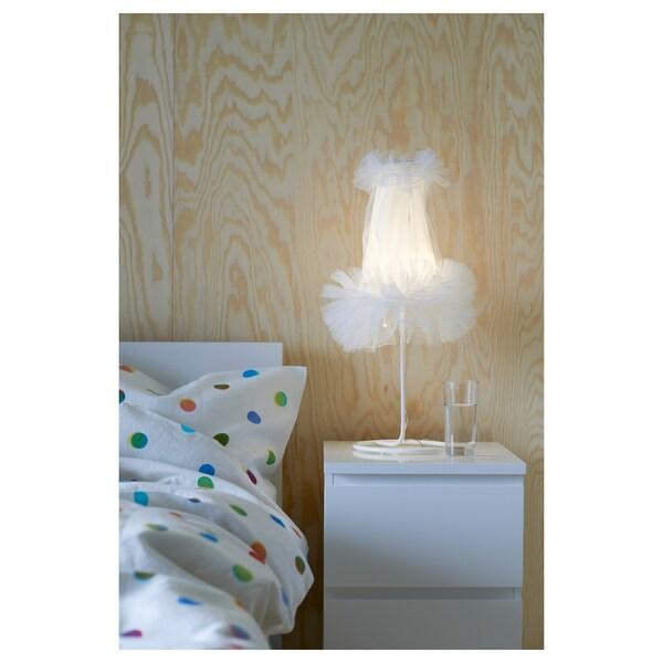 MALM Komoda s 2 zásuvkami, biela, 40x55 cm