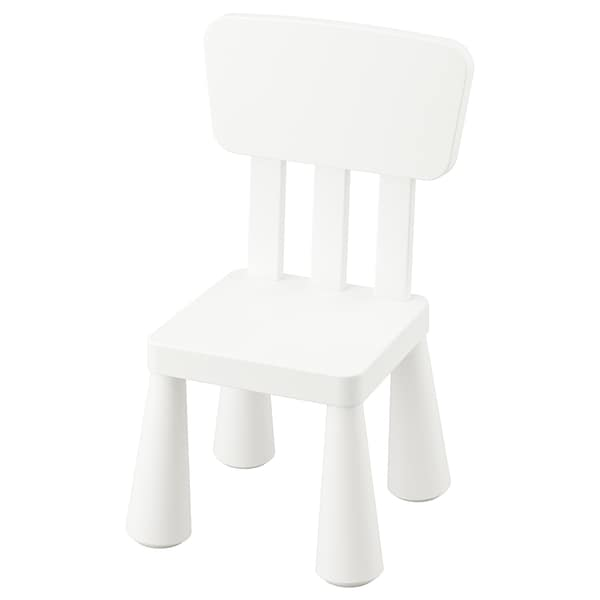 MAMMUT detská stolička na von/dnu/biela 39 cm 36 cm 67 cm 26 cm 30 cm