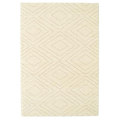 MARSTRUP Koberec, nízky vlas, béžová, 160x230 cm