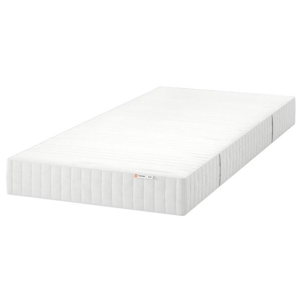 MATRAND matrac z pamäťovej peny tvrdý/biela 200 cm 90 cm 18 cm