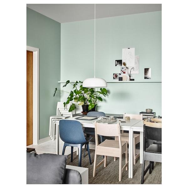 MELLTORP Stôl, biela, 125x75 cm