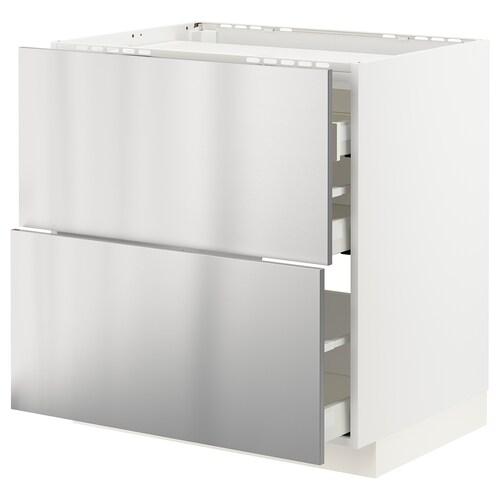 IKEA METOD / MAXIMERA Spod skrin var dos/2 čelá/3 zásuvky