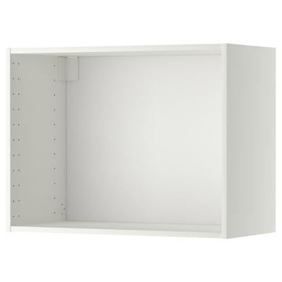 METOD Nástenná skrinka, biela, 80x37x60 cm