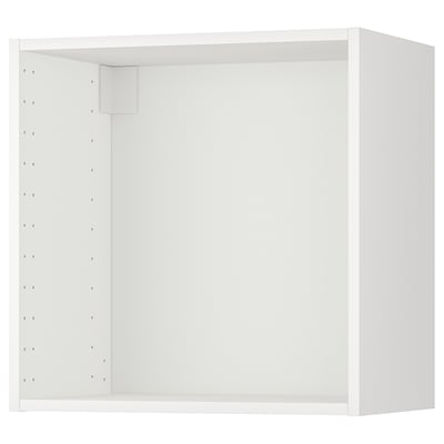 METOD Nástenná skrinka, biela, 60x37x60 cm