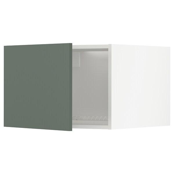 METOD Vrch skr na chlad/mraz, biela/Bodarp sivozelená, 60x40 cm