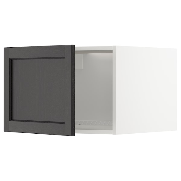 METOD Vrch skr na chlad/mraz, biela/Lerhyttan čierne morené, 60x40 cm