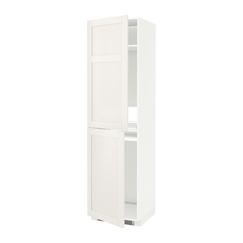 metod vysok skri a na spotrebi e biela s vedal biela 60x60x220 cm ikea. Black Bedroom Furniture Sets. Home Design Ideas