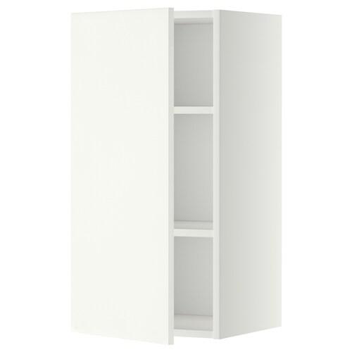 METOD nástenná skrinka s policami biela/Häggeby biela 40.0 cm 38.6 cm 80.0 cm