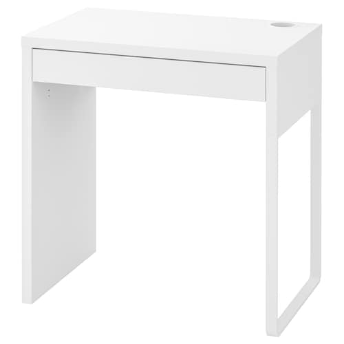 MICKE stôl biela 73 cm 50 cm 75 cm 50 kg
