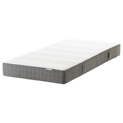 MORGEDAL Penový matrac, tvrdý/tmavosivá, 90x200 cm