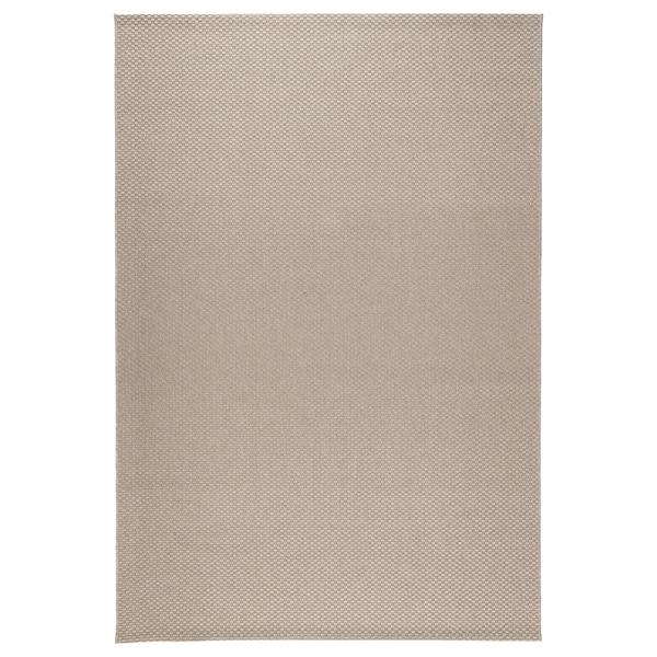 MORUM Koberec, hladko tkaný, vnút/vonk, béžová, 160x230 cm