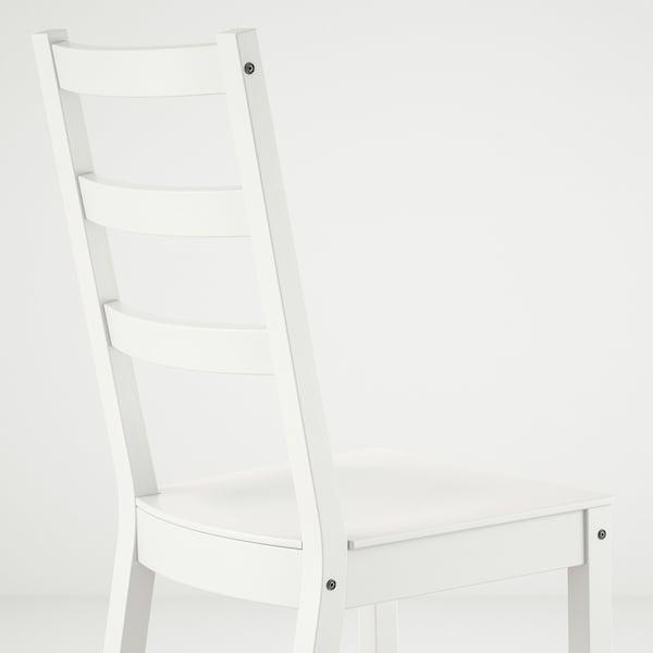 NORDVIKEN / NORDVIKEN Stôl a 2 stoličky, biela/biela, 74/104x74 cm