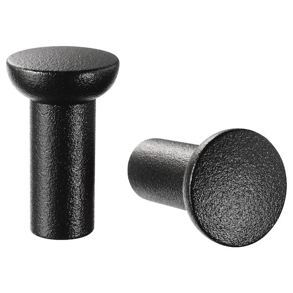 NYDALA Úchytka, čierna, 16 mm