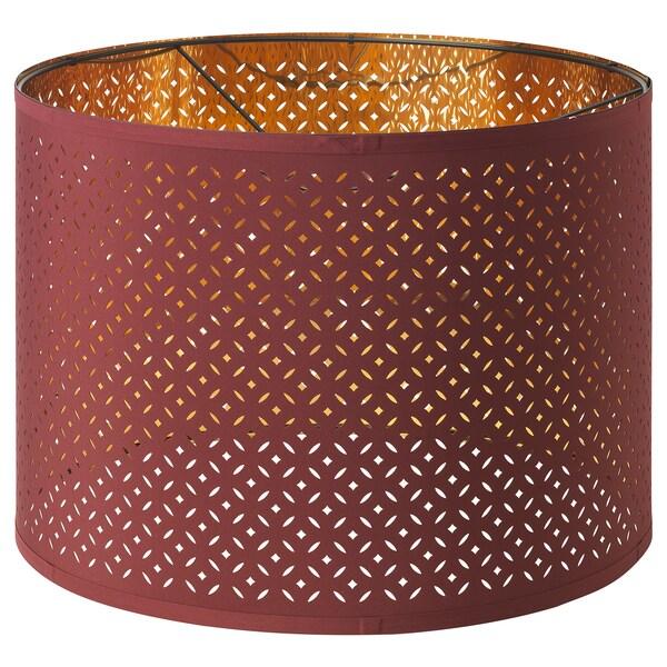 NYMÖ / SKAFTET základňa lampy, naklonená červená/mosadzná 213 cm 150 cm 44 cm 48 cm 2.0 m 13 W