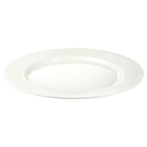 OFANTLIGT tanier biela 28 cm