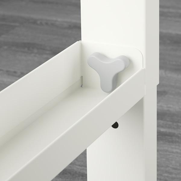PÅHL Stôl, biela, 128x58 cm