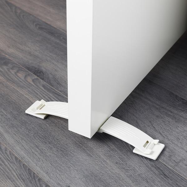 PATRULL zarážka dverí biela 23 cm 4 cm 4 cm 2 ks