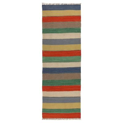 PERSISK KELIM GASHGAI Koberec, hladko tkaný, vyrobené ručne, 55x200 cm