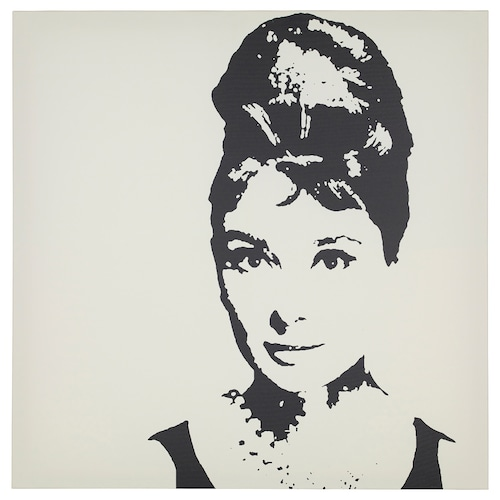 PJÄTTERYD obraz Audrey Hepburnová 90 cm 90 cm