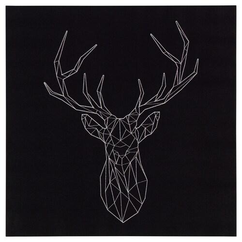 PJÄTTERYD obraz silver deer 56 cm 56 cm