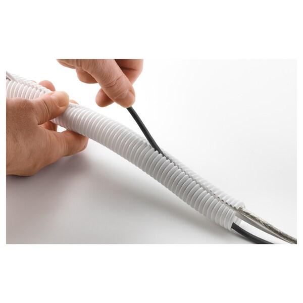 RABALDER usporiadanie káblov biela 5 m 2 cm