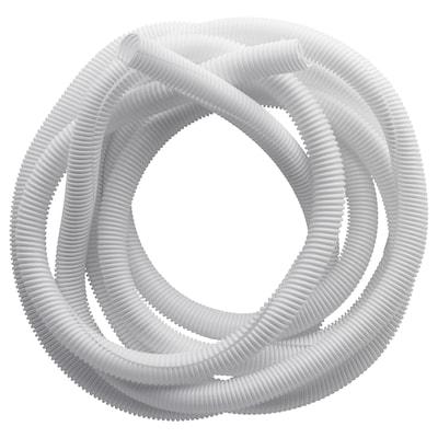 RABALDER Usporiadanie káblov, biela, 5 m