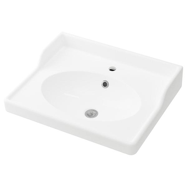 RÄTTVIKEN umývadlo biela 62 cm 60 cm 49 cm 10 cm 6 cm