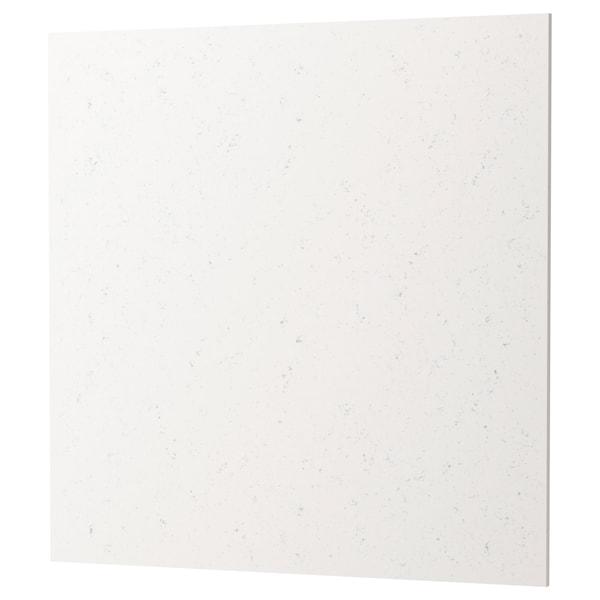 RÅHULT Nástenný panel na mieru, vzor biely mramor kremeň, 1 m²x1.2 cm