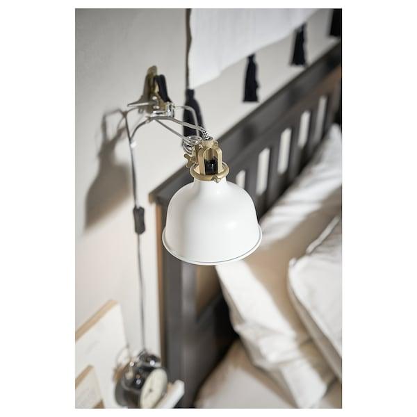 RANARP Bodová lampa so štipcom, krémová
