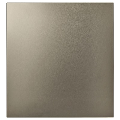 RIKSVIKEN Dvere, svetlobronzový vzor, 60x64 cm